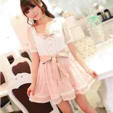 Kawaii Cute Pink One Piece Lolita Dress