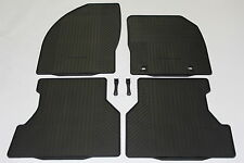 NEW GENUINE FORD FOCUS RUBBER CAR MATS 2007-2011 FRONT & REAR MK 2