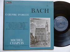 BACH L oeuvre d orgue MICHEL CHAPUIS   VALOIS  MB 843