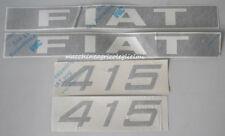 Serie Decacolmania-Adesivi Per Trattore Fiat 415...