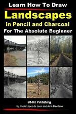 Learn How to Draw Landscapes in Pencil and Charcoal for the Absolute Beginner...