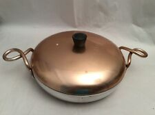 Vintage Aluminum Wear-Ever No. 2109 Hallite Pan Pot Cookwear Curly Handle