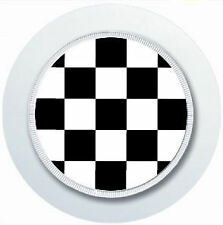 CHEQUERED PATTERN MINI OR MASONIC CAR TAX DISC HOLDER REUSABLE