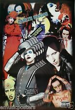 "MARILYN MANSON ""COLLAGE OF MARILYN PHOTOS THROUGHOUT HIS CAREER"" POSTER"