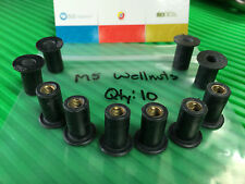 Wellnuts Metric M5 Windscreen/Fairing Rubber Well Nuts