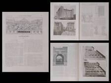 CONSTRUCTION MODERNE 1911 PARIS, 72 RUE DE LA COLONIE, FONDATION SINGER POLIGNAC