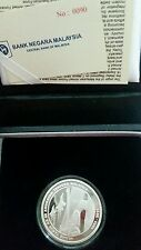 2013 rm10 Single ATM certificate No.90, Malaysia Commerative Coin, BU/UNC