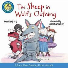 Laugh-Along Lessons: The Sheep in Wolf's Clothing by Helen Lester (2014,...