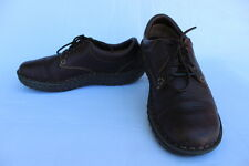 Womens BORN Brown Leather Casual Shoes Oxfords Laces Size 11M W6540 EUC 43 EUR