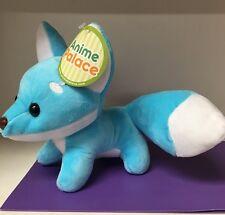 """6"""" Cute Fox Plush Blue Single Tail"""