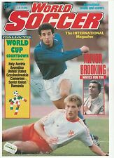 GIANLUCA VIALLI ITALY INT 1985-1992 ORIGINAL HAND SIGNED MAGAZINE CUTTING