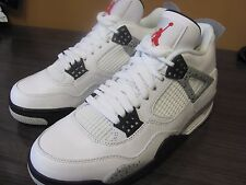 Nike Air Jordan 4 OG 89 White Cement 2016 SZ 8.0