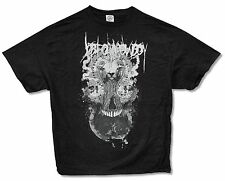 "JOB FOR A COWBOY ""GOAT HAIR SKULL"" BLACK T-SHIRT NEW OFFICIAL MUSIC ADULT XL"