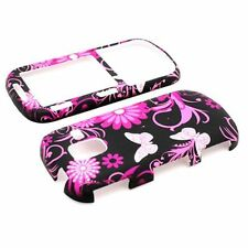 For Samsung INTENSITY 3 III U485 Pink Butterfly Case Hard Plastic Design Co