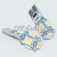 10X  Canbus Error  T10 5-SMD 5050  W5W 194 16 Interior LED light  Lamp White