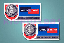 The F.A. Charity Shield 1999-2001 Player Standard Patches Velvet Badges