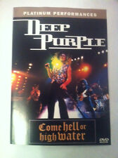 DEEP PURPLE - Come Hell or High Mater ( DVD, NEW, 16 tracks, Color, 120 min )