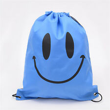 Girls Boys Drawstring Swim Sportswear Shoe Dance Bags Schoolbags Backpack Gym H