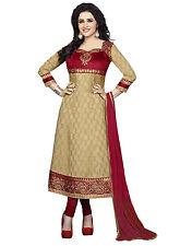 DivyaEmporio Faux Crepe  Unstitched Salwar Suit Dress Material (SST-3976)