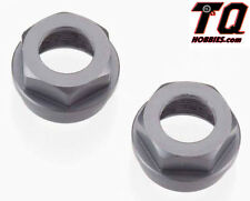Tekno RC TKR6015 Aluminum Shock Cartridge Cap Set (Gun Metal) (2) SCT410