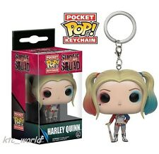 New Funko POP Suicide Squad Harley Quinn Action Figure Mini Keychain