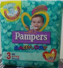 PAMPERS Baby-Dry 3°Mis. 4-9 kg 6 conf. 126 pannolini