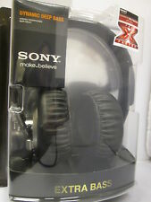 SONY MDRXB500 Headphones - 40mm Driver: MDR-XB500