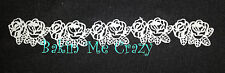 6 Edible Rose Cake Lace Panels Wedding Engagement Anniversary Birthday Party