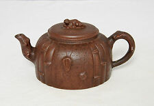 Chinese  Ceramic  Teapot  With  Mark        M1826