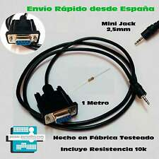 CABLE RECUPERACION RS232 SERIE ERROR ASH ENGEL RS4800 Mini Jack 2,5mm DB9  EN