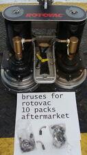 rotovac powerwand  brushes    aftermarket  5 sets     10 brushes