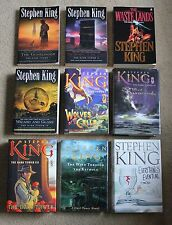 Stephen King The Dark Tower Series (1-8) Complete Set + Everything's Eventual!