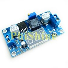 LM2596 Buck Step-down Power Converter Module 4.2-40V to 1.25-37V LED Voltmeter