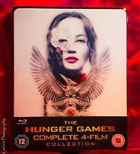 The Hunger Games - Complete Collection Limited Lenticular Steelbook Blu-ray 2015