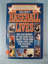 Baseball Lives Vintage Book By Mike Bryan Copyright 1989 Ballantine Books (O)