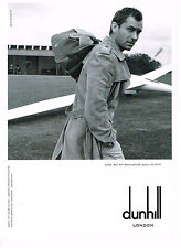 PUBLICITE ADVERTISING 094  2008  DUNHILL   trench-coat accessoires  JUDE LAW