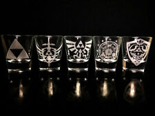 Legend of Zelda Shot Glass Set of 5