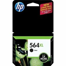 NEW HP 564XL Black Genuine Ink Cartridge PhotoSmart C6375 C6388