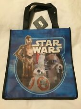 Star Wars Force Awakens Tote Bag C3PO BB8 R2D2 Droids Shopper New Eco