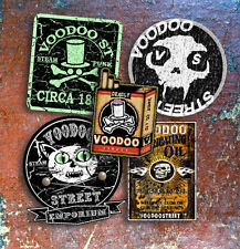 STEAMPUNK sticker pack, custom, patina, zombie, splitty, occult, voodoo, skulls