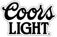 "Coors Light Beer Car Bumper Window Locker Sticker Decal 5""X4"""