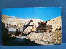 Postcard UT Bingham Copper Mine Heavy Machinery Electric Shovel