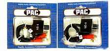 Lot of (2) PAC LC-1 Remote Amplifier Level Volume Controller, for SUBWOOFER
