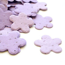 Lavender Flower Shaped Wildflower Seed Recycled Paper Eco Plantable Confetti