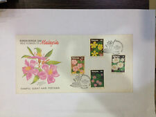 Wild Flowers of Malaysia 1990 FDC