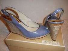 MICHAEL Michael Kors Keegan Sling SIZE 10 Made  patent leather upper. Buckle clo