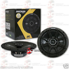 BRAND NEW KICKER 6.75-INCH 2-WAY CAR AUDIO COAXIAL SPEAKERS (PAIR) 6-3/4""