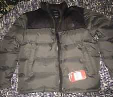 NWT Men's North Face Grey Black Gunmetal Nuptse Down Jacket XL $220 Sold Out Evr