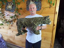 Steiff Leopard  HUGE  with all Ids  made in Germany 1155