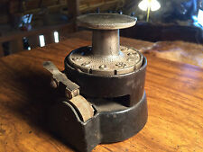 Vintage 1890's Working Cast Iron/Steel Check Punch Machine by Wesley Mfg Co.